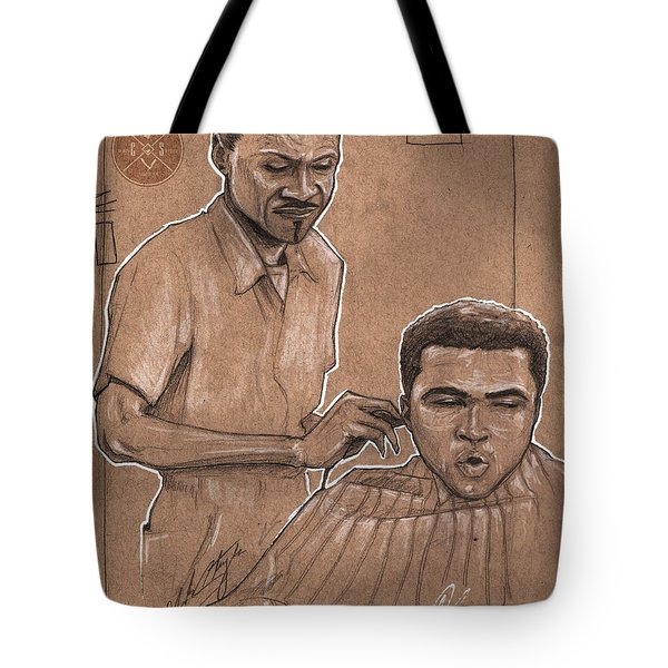 Trim The Lion Tote Bag