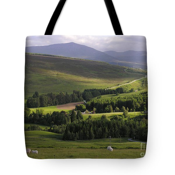 Summer In The Hills Of Perthshire  Tote Bag
