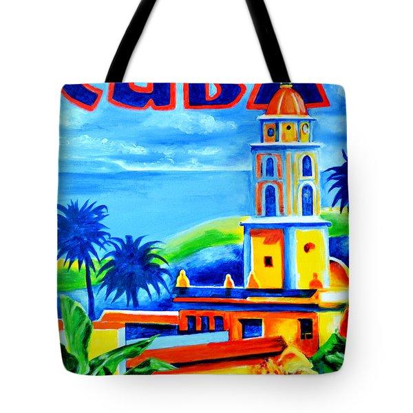 Trinidad Cuba Tote Bag by Victor Minca