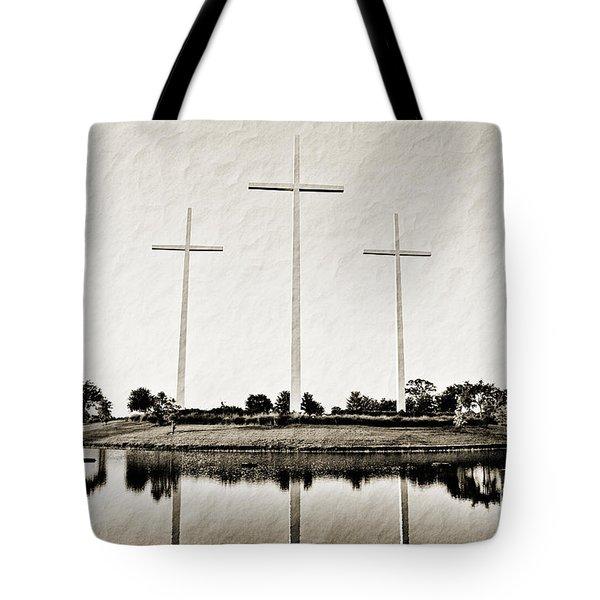 Trinity Tote Bag by Scott Pellegrin