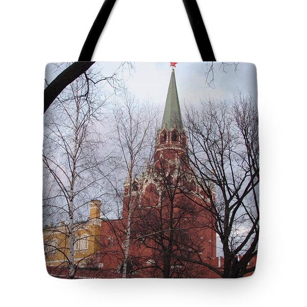 Trinity Tower At Dusk Tote Bag