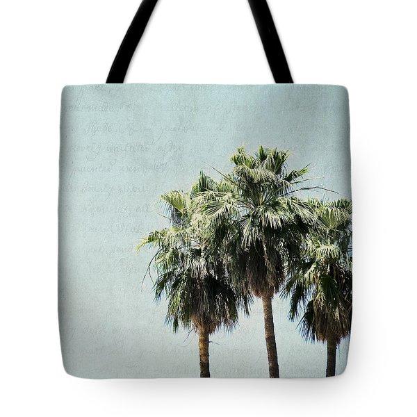 Trio Tote Bag by Lisa Parrish