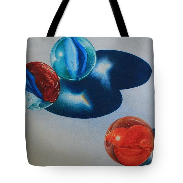 Trio Tote Bag by Pamela Clements