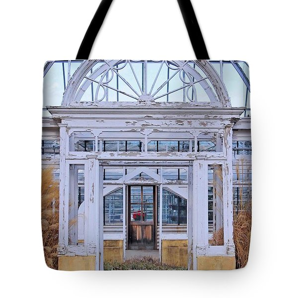 Triple Doorways Tote Bag