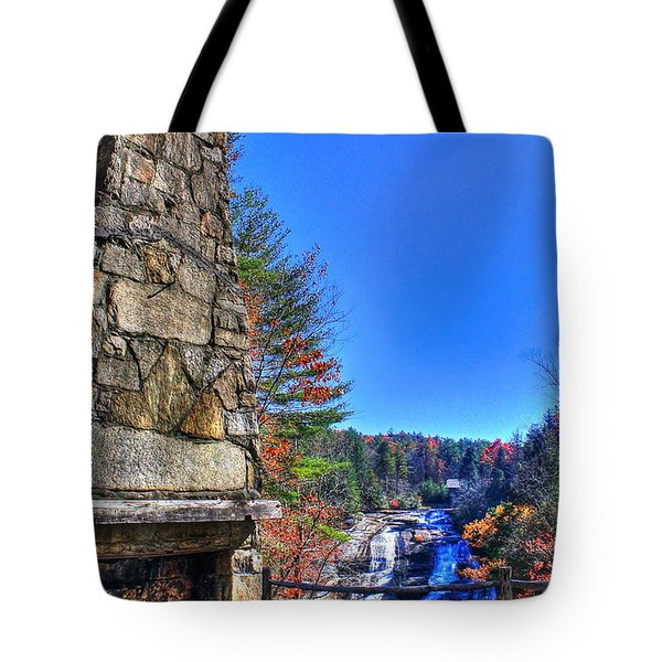 Triple Falls 2 Tote Bag