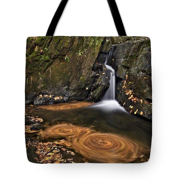 Triple Swirls Tote Bag by Susan Candelario