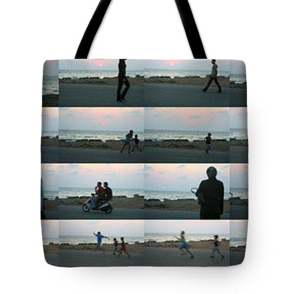 Tripoli Sunset Tote Bag