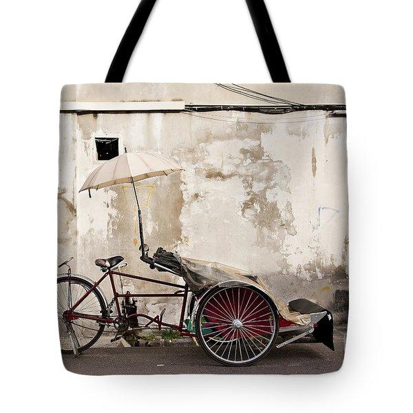Trishaw Tote Bag by Ivy Ho
