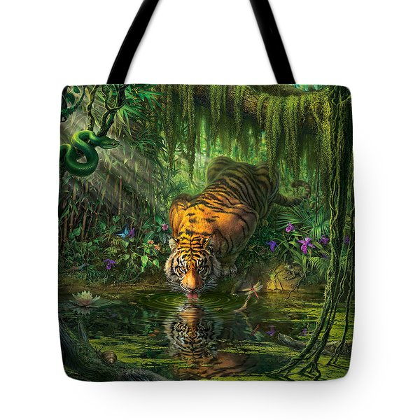 Aurora's Garden Tote Bag by Mark Fredrickson