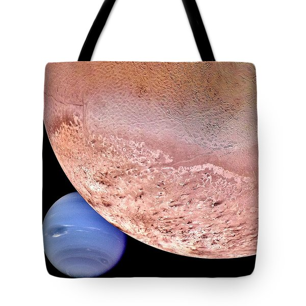 Triton And Neptune Tote Bag