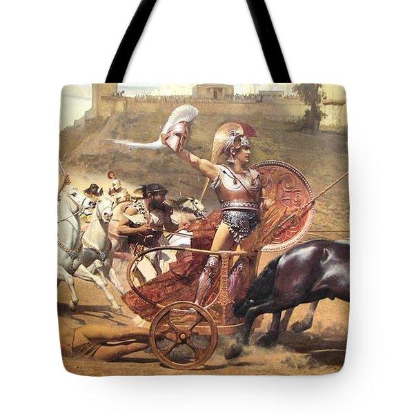 Triumphant Achilles Tote Bag