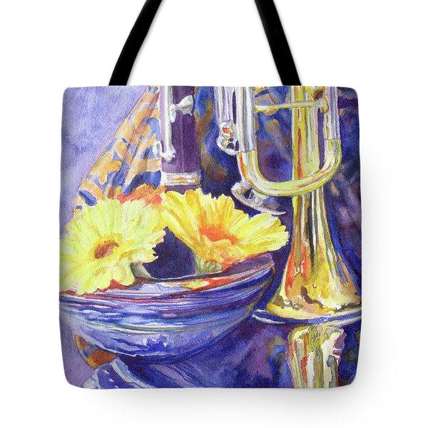 Triumphant Daisies Tote Bag