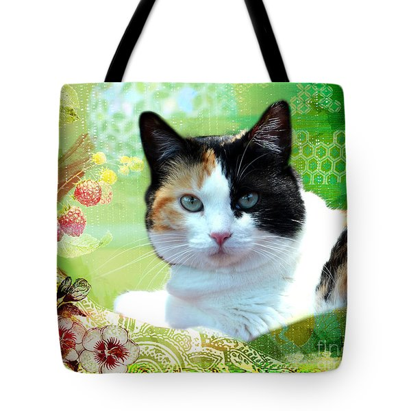 Trixie Tote Bag by Linda Cox