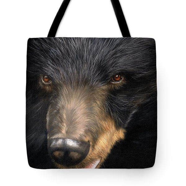 Trixie Moon Bear - In Support Of Animals Asia Tote Bag
