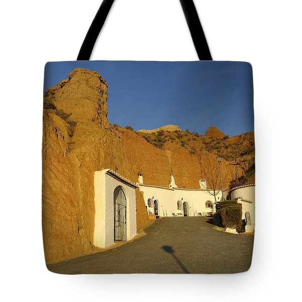 Troglodyte Caves Tote Bag by Guido Montanes Castillo