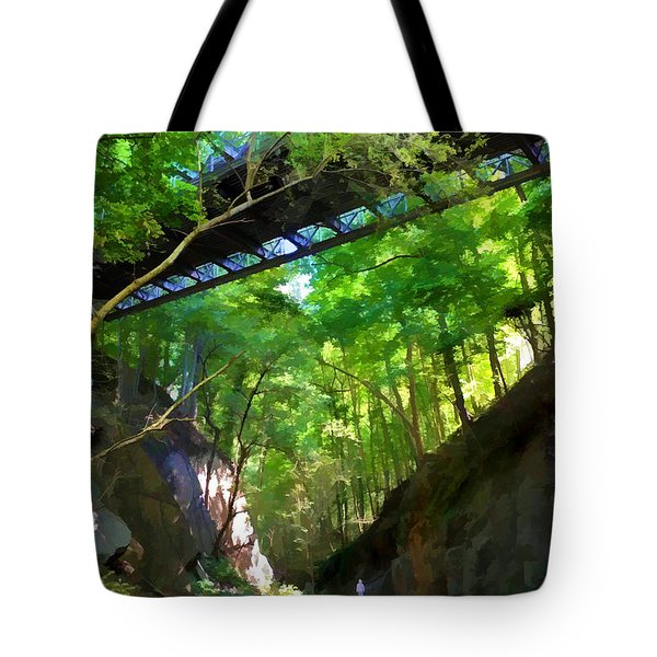 Trolley Trail #9 - Under Westchester Avenue Tote Bag