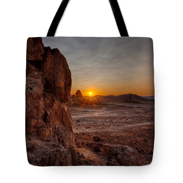 Trona Sunset Tote Bag