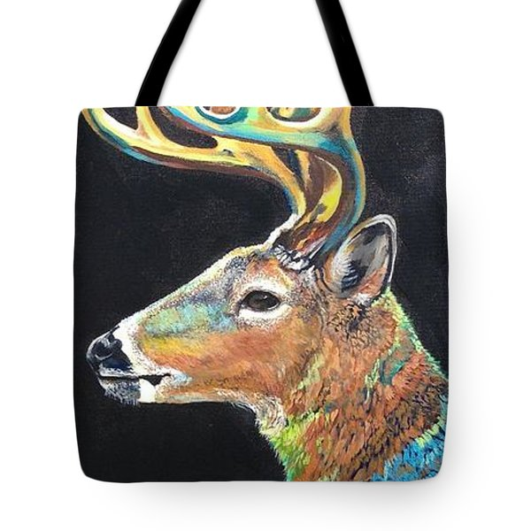 Trophy Buck Tote Bag