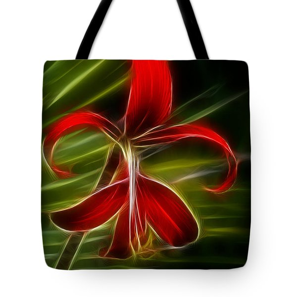 Tropical Abstract Tote Bag