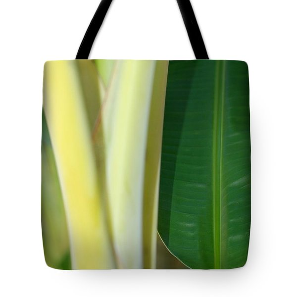 Tropical Banana Tree Tote Bag