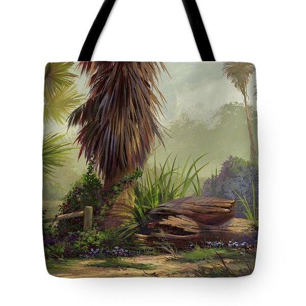 Tropical Blend Tote Bag by Michael Humphries