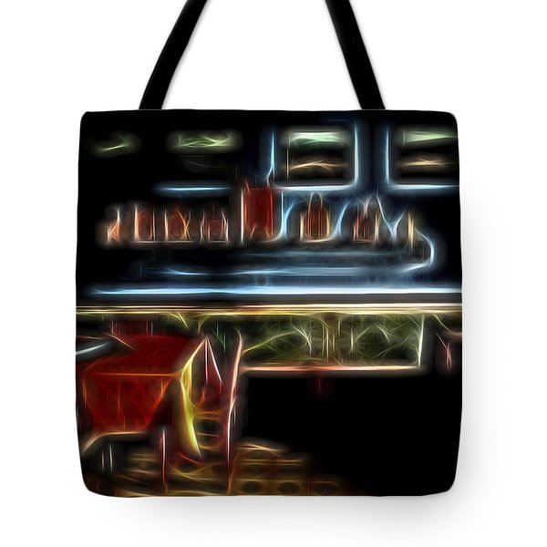 Tropical Dining Room 1 Tote Bag