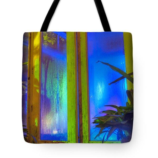 Tropical Door Tote Bag