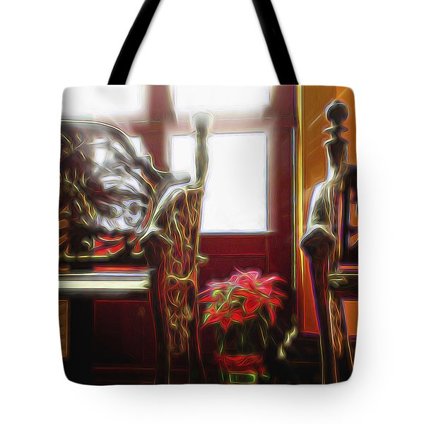 Tropical Drawing Room 1 Tote Bag