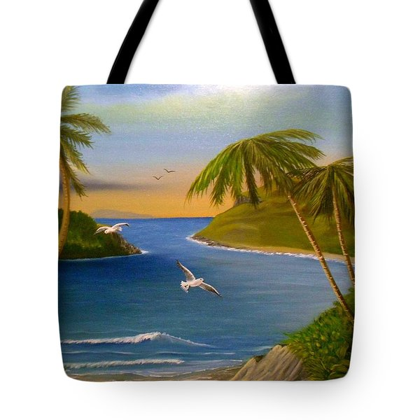 Tropical Escape Tote Bag by Sheri Keith