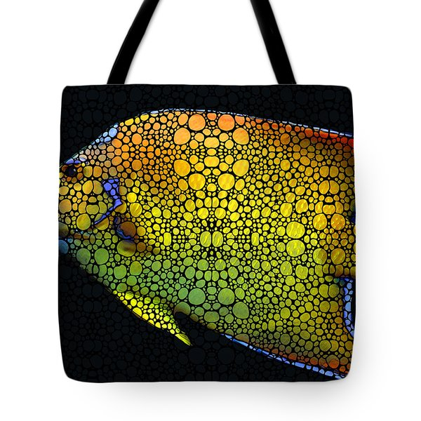 Tropical Fish 12 - Abstract Art By Sharon Cummings Tote Bag