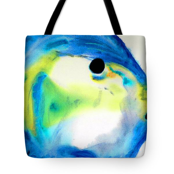 Tropical Fish 3 - Abstract Art By Sharon Cummings Tote Bag
