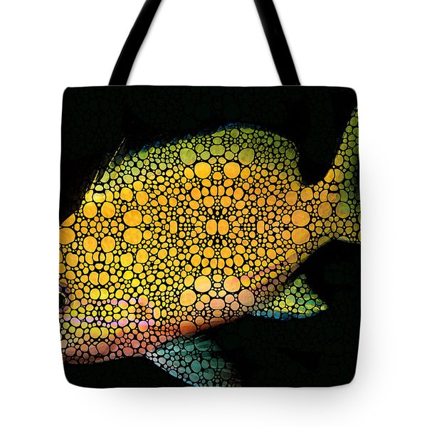 Tropical Fish Art 14 By Sharon Cummings Tote Bag