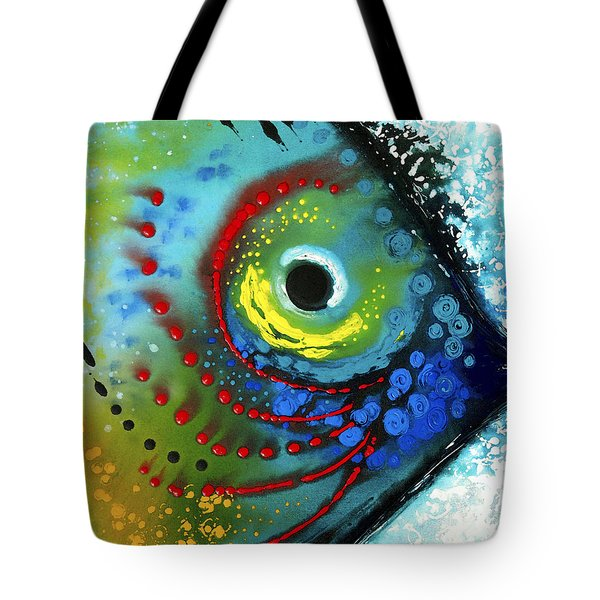 Tropical Fish - Art By Sharon Cummings Tote Bag