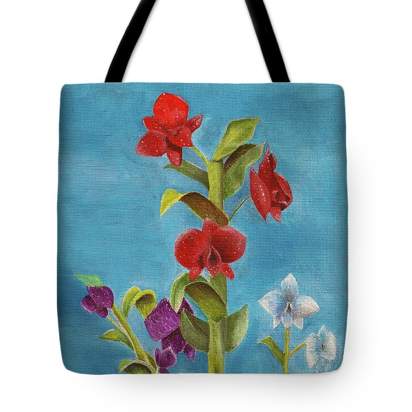 Tropical Flower Tote Bag