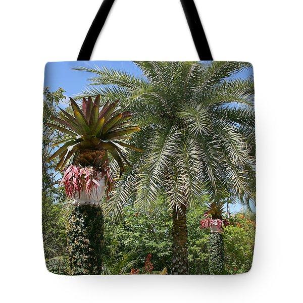 Tropical Garden Tote Bag by Kim Hojnacki