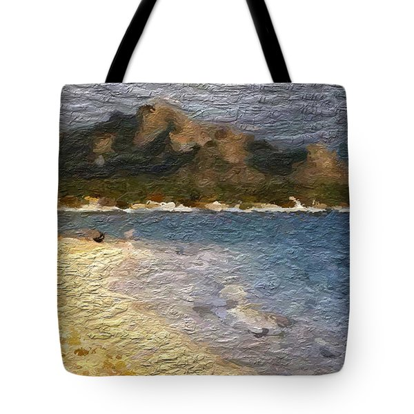 Tropical Getaway Tote Bag by Anthony Fishburne
