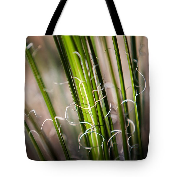 Tropical Grass Tote Bag