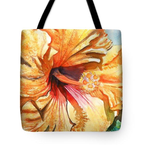 Tropical Hibiscus 3 Tote Bag