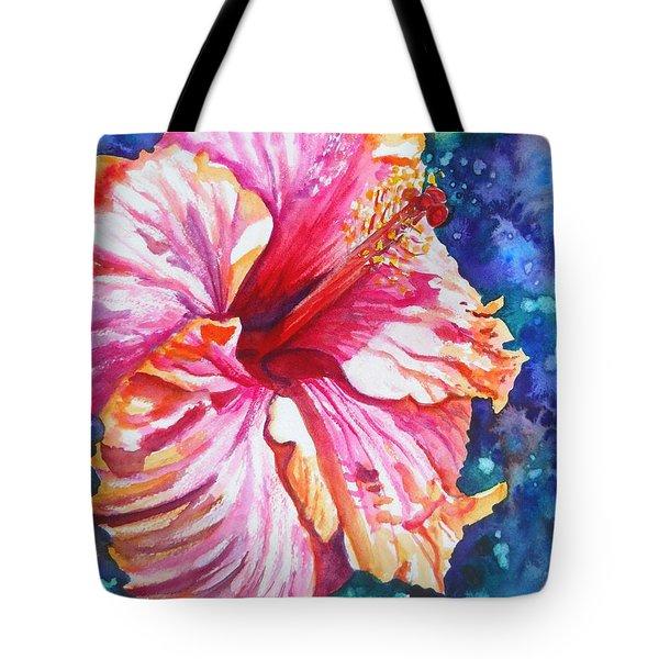 Tropical Hibiscus 4 Tote Bag
