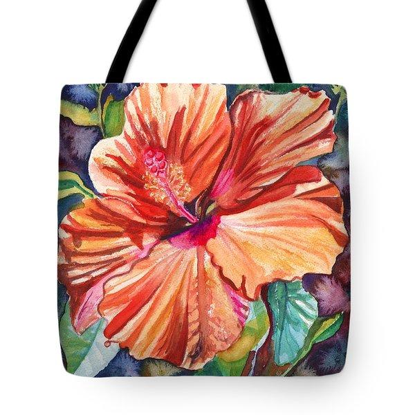 Tropical Hibiscus 5 Tote Bag