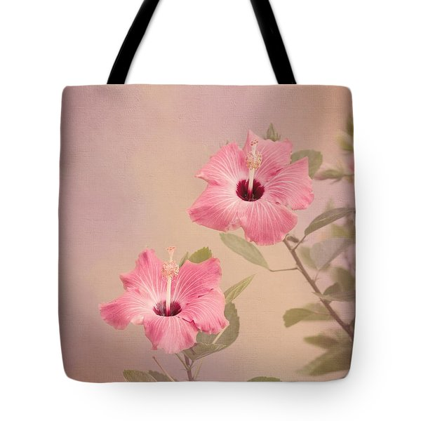 Tropical Hibiscus Tote Bag by Kim Hojnacki
