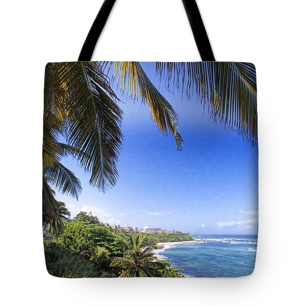 Tropical Holiday Tote Bag by Daniel Sheldon