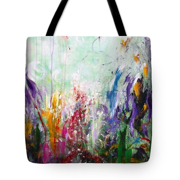 Tropical Journey Tote Bag by Kume Bryant
