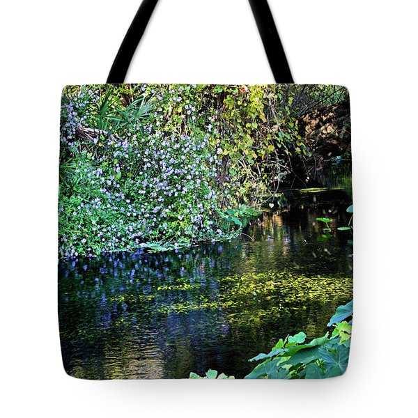 Tropical Tote Bag by Kristin Elmquist