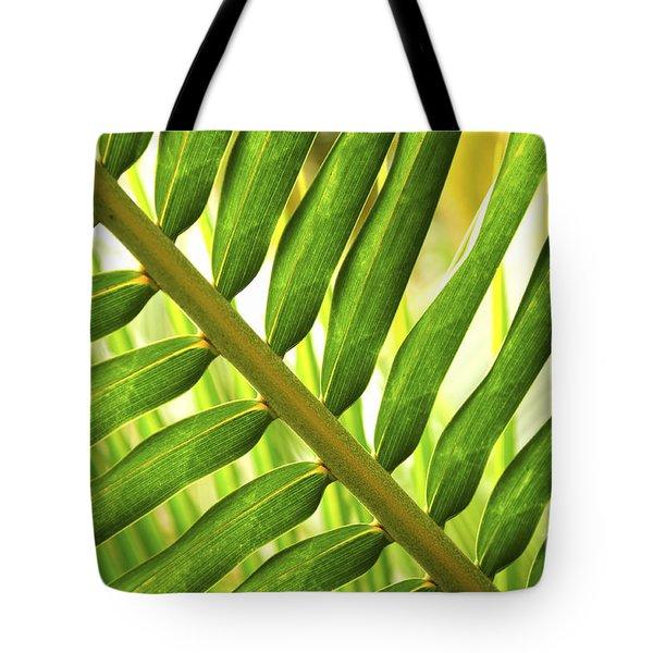 Tropical Leaf Tote Bag by Elena Elisseeva