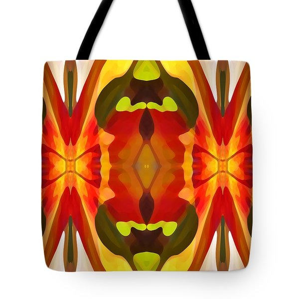 Tropical Leaf Pattern 13 Tote Bag by Amy Vangsgard