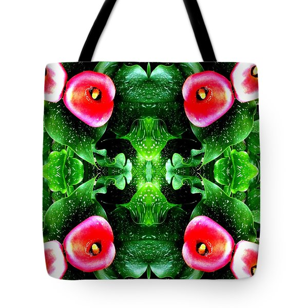 Tropical Lush-us Abstract Tote Bag by Marianne Dow