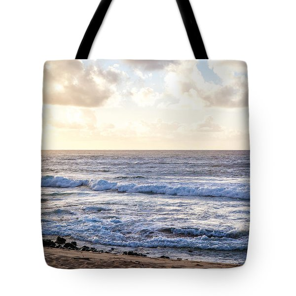 Tote Bag featuring the photograph Tropical Morning  by Roselynne Broussard