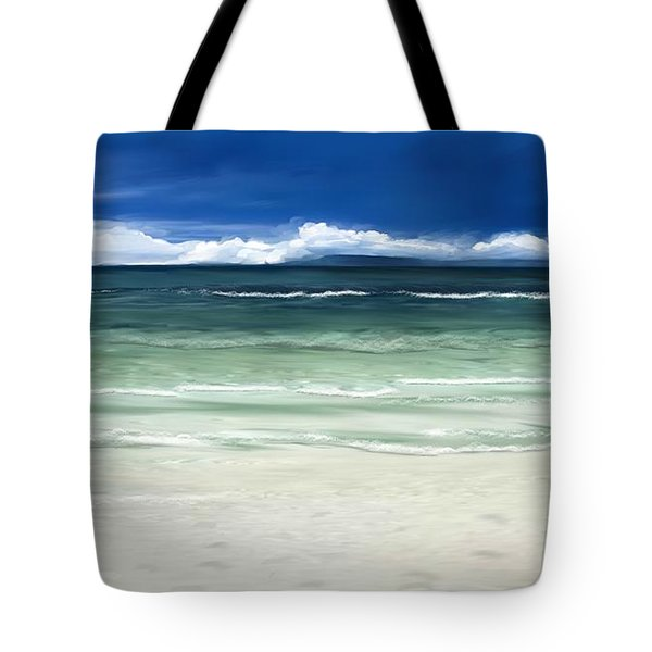 Tropical Ocean Tote Bag