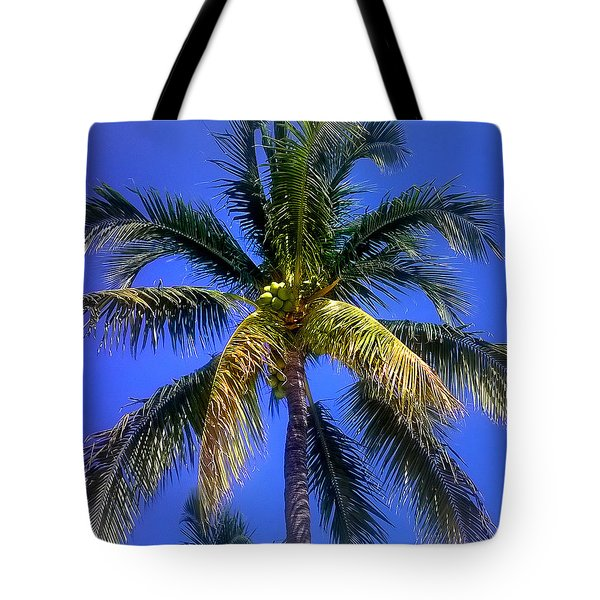 Tropical Palm Trees 8 Tote Bag